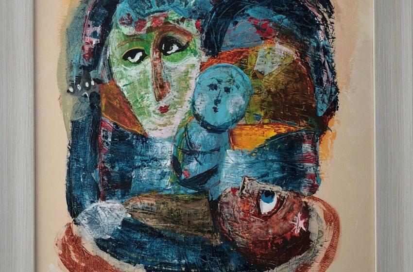 Творба на Зуека в първата Национална оптимистична изложба