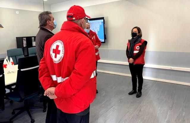Българският Червен кръст откри Национален кризисен оперативен център