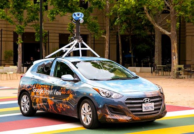 Google Street View отново по българските пътища
