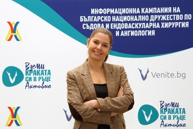 Александра Сърчаджиева е посланик на здравна кампания