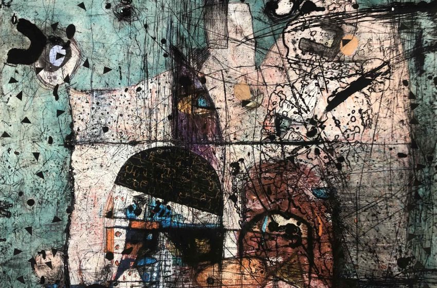 Първа самостоятелна изложба на Людмил Георгиев в Пловдив