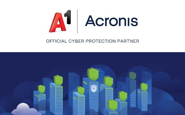 Acronis в партньорство с A1