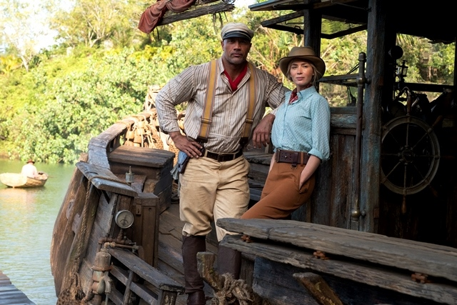 Круиз в джунглата с Емили Блънт и Скалата