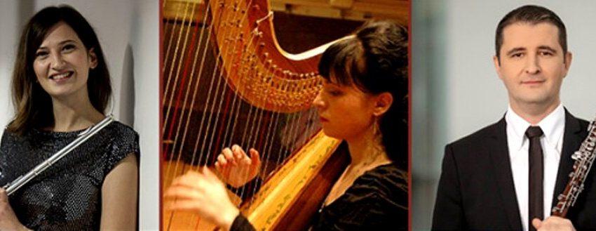Концерт за обой, флейта и арфа