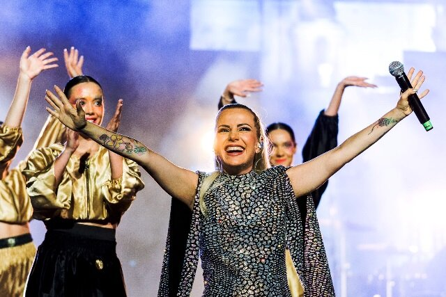 Поли Генова с #1 концерт в София